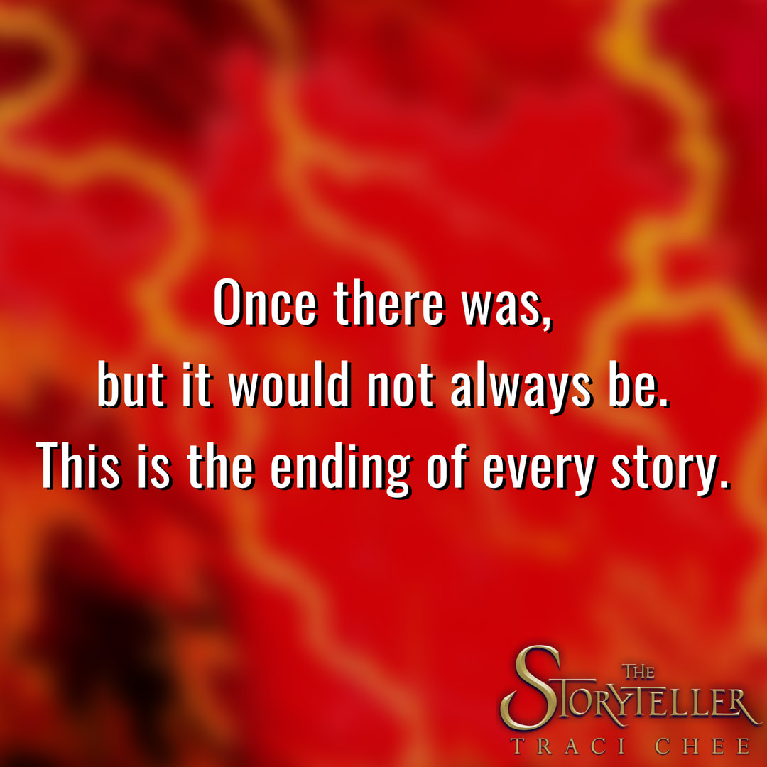 Quote from Traci Chee's THE STORYTELLER: