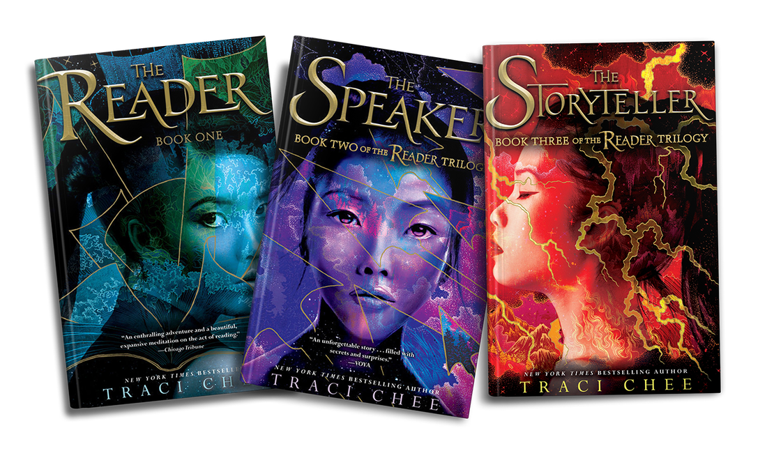 Covers of The Reader Trilogy