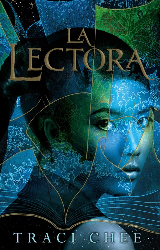 cover of the Spanish edition of THE READER by Traci Chee, LA LECTORA