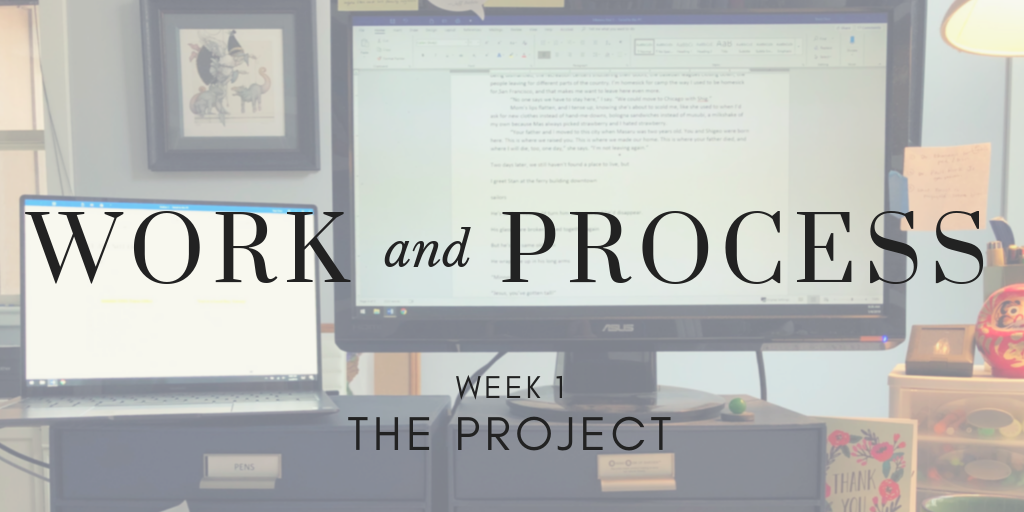 Work and Process, Week 1: The Project